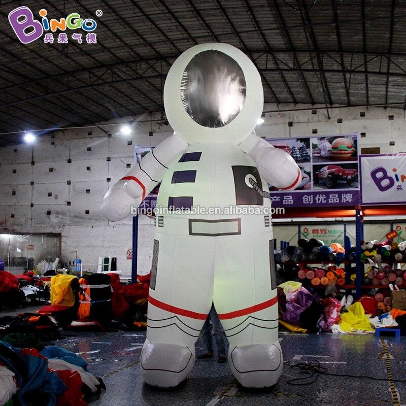 Индивидуальный заказ 13 футов надувные светильники астронавт/светодиодный надувная игрушка астронавт Спорт