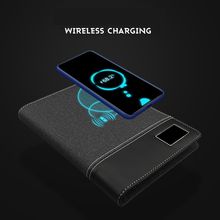 2020 Business Note Book Multi Functional A5 Power Book 8000 MAh Power Wireless C