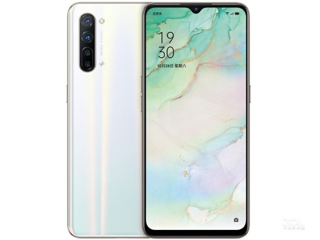 "Stock nouveau Oppo Reno 3 5G téléphone portable Mediatek 1000L 6.4 ""2400X1080 12G RAM 128G ROM 64.0MP 5 caméras VOOC écran dempreintes digitales"