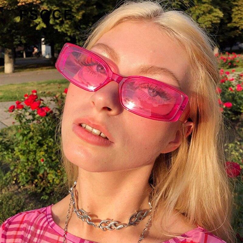 Fsqce nova mulher cateye vintage vermelho óculos de sol marca designer retro pontos olho de gato óculos feminino senhora