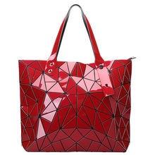 Роскошные сумки bao для женщин 2020 геометрические лазерные