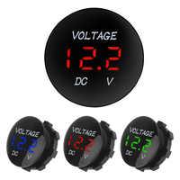 LEEPEE Led Display  For Car Auto Motorcycle   Mini Digital Voltmeter Ammete  Voltage Meter Tester  DC 12V-24V