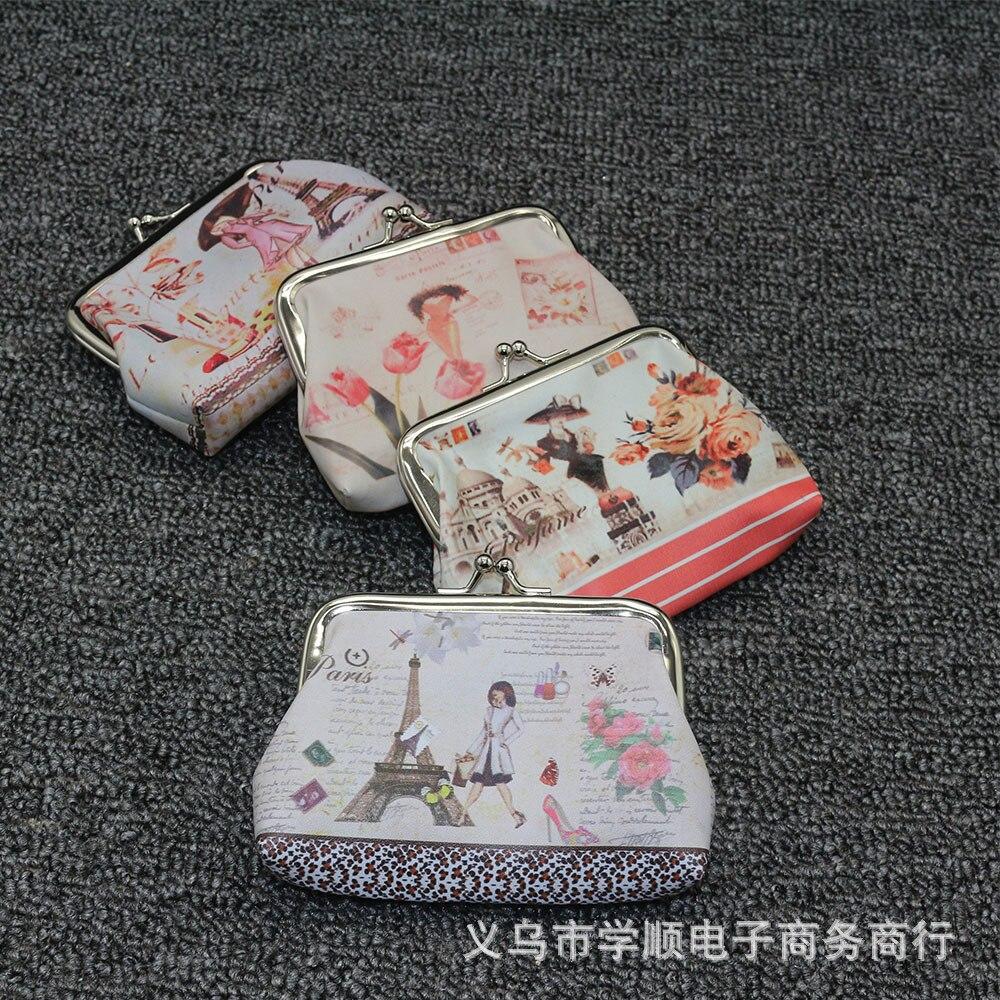 Digital Printing Purse Women's Cute Carrying Coin Bag Yiwu Creative Coin Pocket