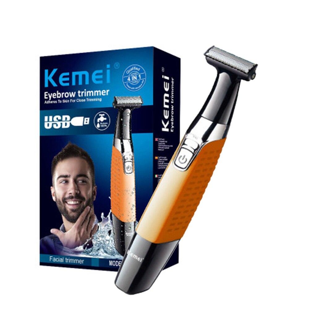 One Blade Men's Shaver Body Face Razor for Men Male Stubble Trimmer Beard Shaving Edge Head-in Razor from Beauty & Health