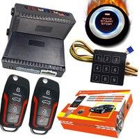 Cardot 2020 ano auto passivo keyless entrada start stop alarme botão de ignição remoto start stop motor do carro sistema de alarme