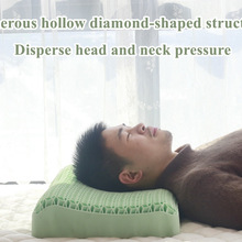 NEW TPE Gel Zero Pressure Multifunctional Orthopedic Pillow High Elasticity Correction Neck Pain Massage Memory Sleeping Pillow