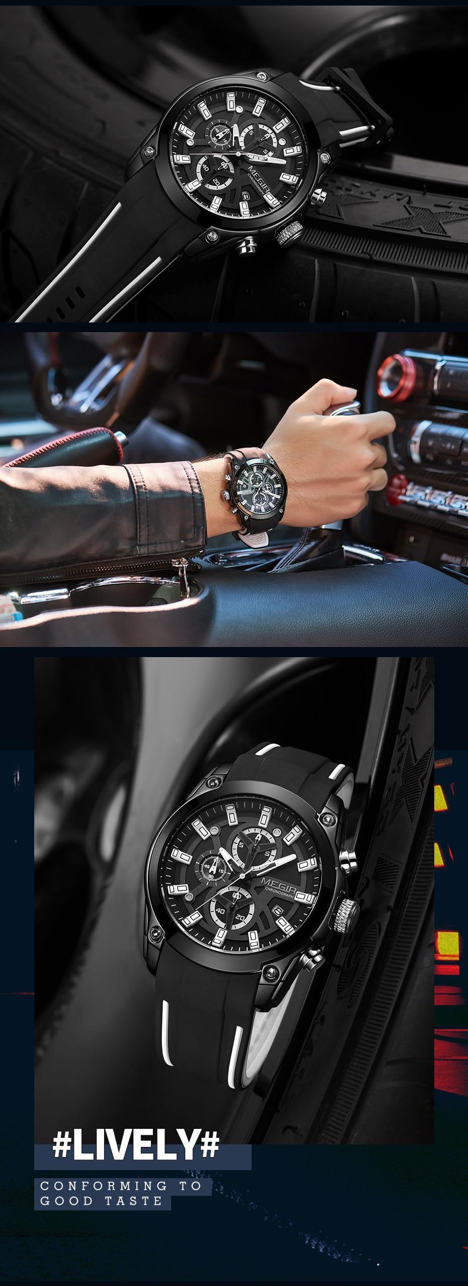 H281755c1295e416884130b63210523f9Q MEGIR 2020 Blue Sport Watches for Men