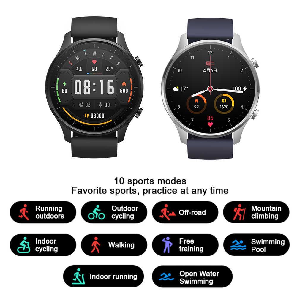 Nouveau Xiaomi couleur montre GPS mode jeune NFC Bracelet montre-Bracelet Sport Bluetooth Fitness moniteur de fréquence cardiaque Tracker