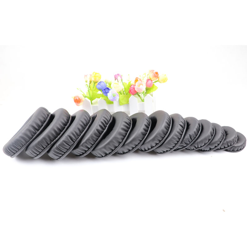 45MM-110MM Soft PU Earpad Foam Ear Pads 60mm 70mm Cushions For Sony For AKG For Sennheiser For ATH For Philips Headphones 11.8