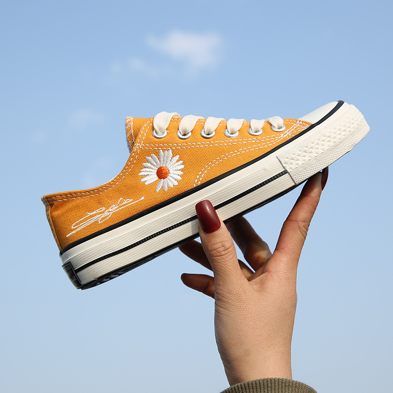 Canvas Shoes Woman High