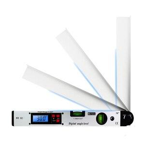 Image 3 - 0 225 תואר דיגיטלי זווית רמת מטר מד 400mm 16 אינץ אלקטרוני מד זווית משלוח חינם