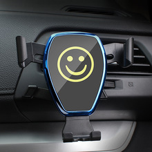 Car phone holder Air outlet Multi-function car gravity bracket interior products