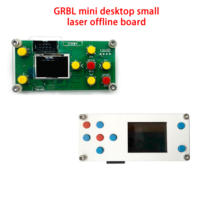 GRBL в автономном режиме для рабочего стола, ширина 1 дюйм, 1,8 дюйма плата контроллера ЧПУ 3 оси для LY 1610/2418/3018 PRO гравировальный станок резьба по ...