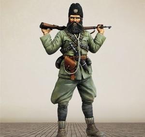 1/16 Scale Unpainted Resin Figure Yugoslav soldier GK figure(China)