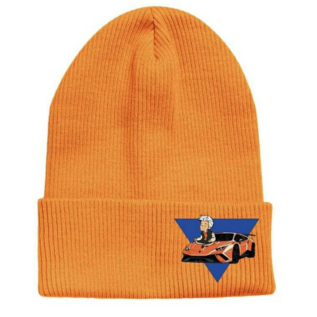 Одежда Мерч Влад А4 Hats for Unisex Winter Keep Warm Hat kniting Adult/Child Elegant Hat  Кепки оранжевые Мерч Влад А4 Ламба