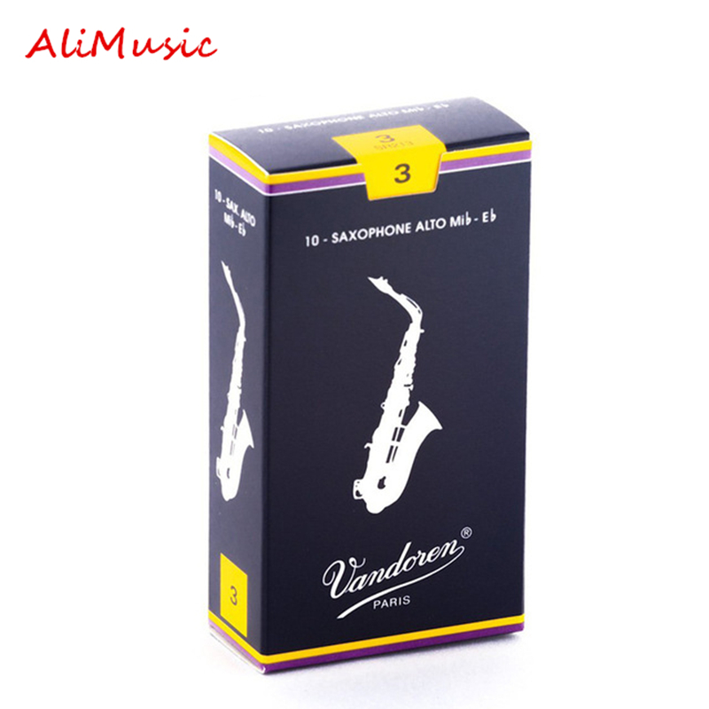 France Vandoren Traditional Saxophone Reeds Brand Quality Instrument Accessories For Soprano Alto Eb Sax Reeds Strength 2.5# 3#