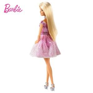 Image 5 - バービーオリジナルブランド人形ハッピー誕生日のファッションアクセサリー子供のためのきらめきガールおもちゃboneca女の子brinquedosギフト