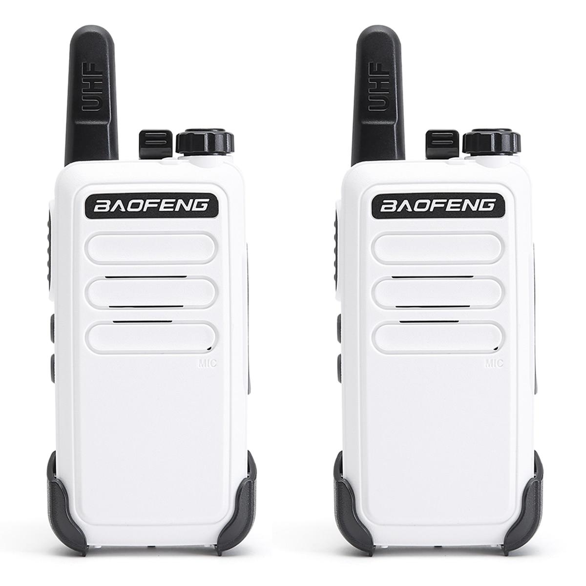 4PCS Baofeng BF-C9 Mini Walkie Talkie 400-470MHz UHF Two Way Radio bf-888s bf888s Portable VOX USB Charging Handheld Transceiver