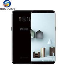 Entsperrt Original Samsung Galaxy S8 SM-G950F SM-G950U 4GB RAM 64GB ROM4G LTE SmartPhone 5.8