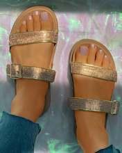 Ins/Роскошные пикантные трендовые женские шлепанцы; Обувь на