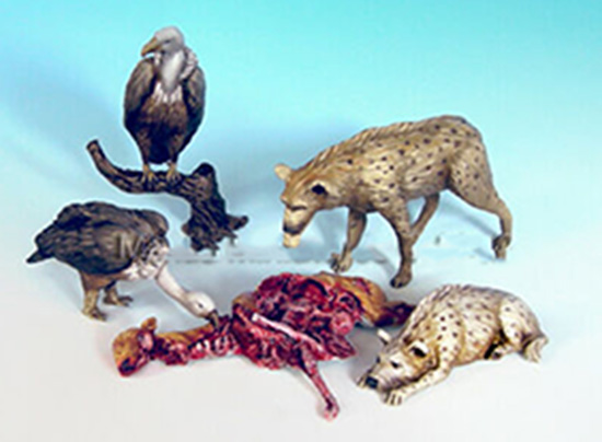 1/35 Modern Animal Set  Resin Figure Model Kits Miniature Gk Unassembly Unpainted