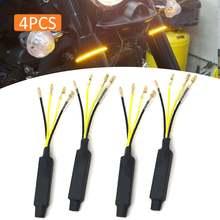 4 шт Универсальный 12v мотоциклов светодиодный поворотник резисторы