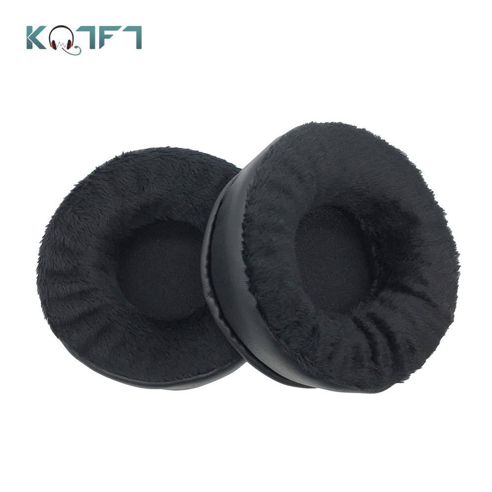 KQTFT Velvet Replacement EarPads for <font><b>JVC</b></font> HA-RX700 HA-RX900 HA RX700 <font><b>Headphones</b></font> Ear Pads Parts Earmuff Cover Cushion Cups image