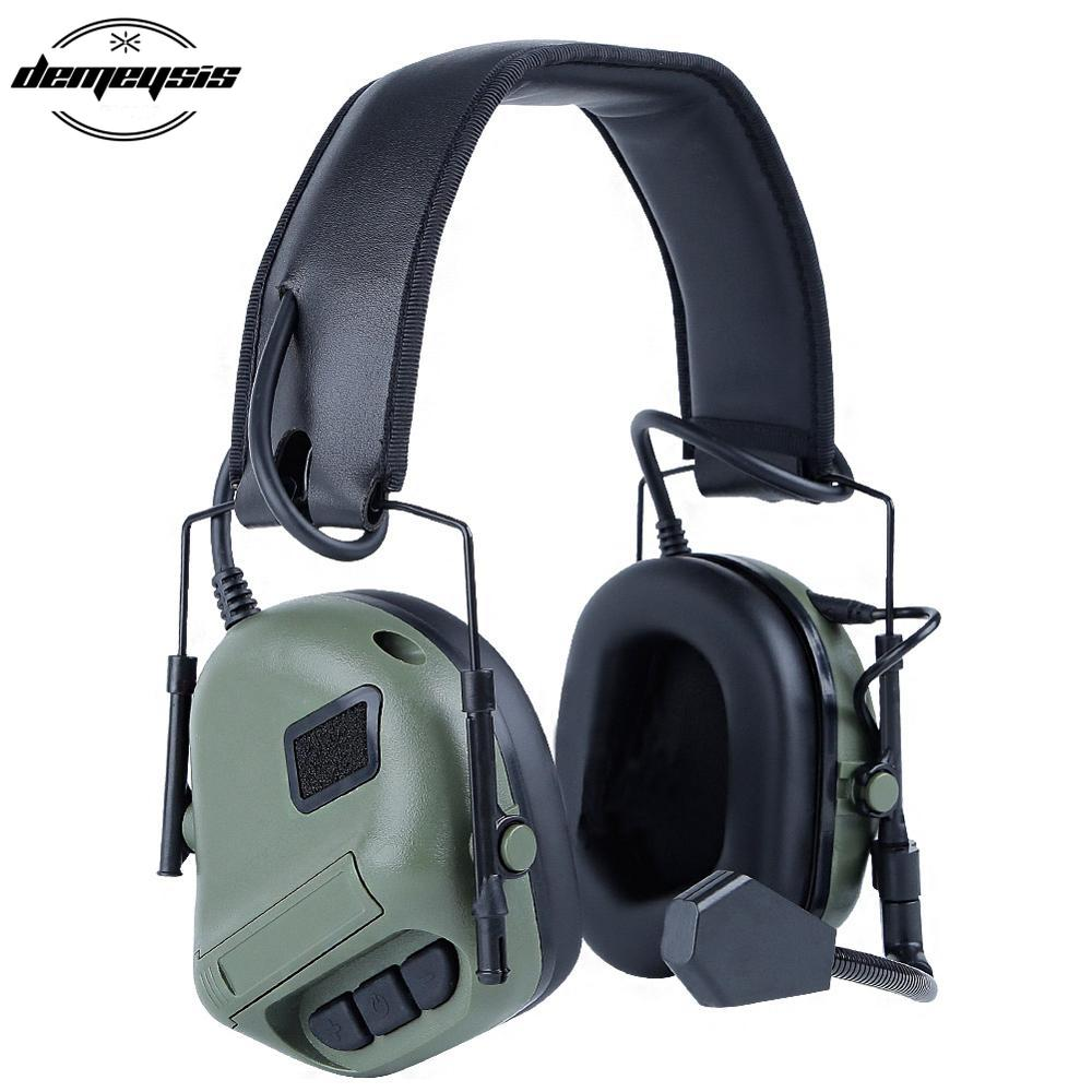 Military Tactical Headset Airsoft Paintball Combat Headsets Outdoor Sports Men Shooting Military Hunting Headphone
