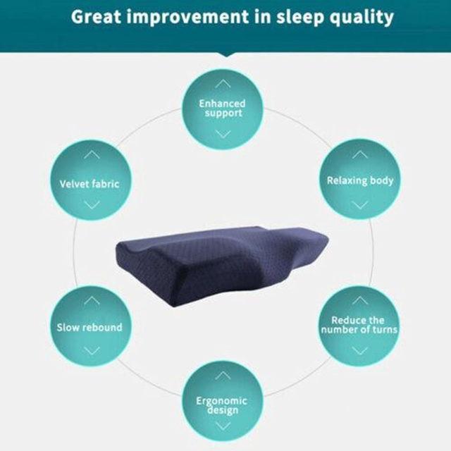Memory Cotton Ergonomic Pillow 6