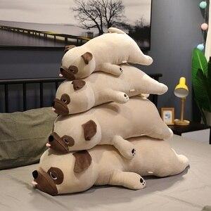 plush Pug toy stuffed plush animal Shar Pei soft doll dog plush toy pillow kids toys birthday gift for girlfriend(China)