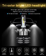 MDATT Beautiful price H4 Led H7 with Lumileds ZES 6000K LED 12000LM 72W/set Lampada H1 Bulb HB3 9005 9006 hb4 Fog Light 4300K H8