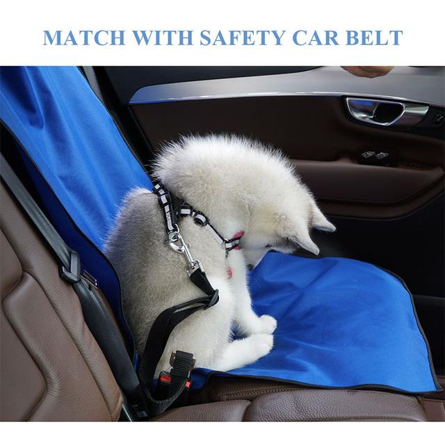 Samochodowe wodoodporne tylne siedzenie Pet obudowa ochronna mata tylne bezpieczeństwo akcesoria podróżne dla psa szelki tylna podkładka na siodełko Perros Accesorios tanie i dobre opinie Podróży samochodem akcesoria CN (pochodzenie) NYLON Classics Uniwersalny wszystkie pory roku Stałe Przyjazne dla środowiska