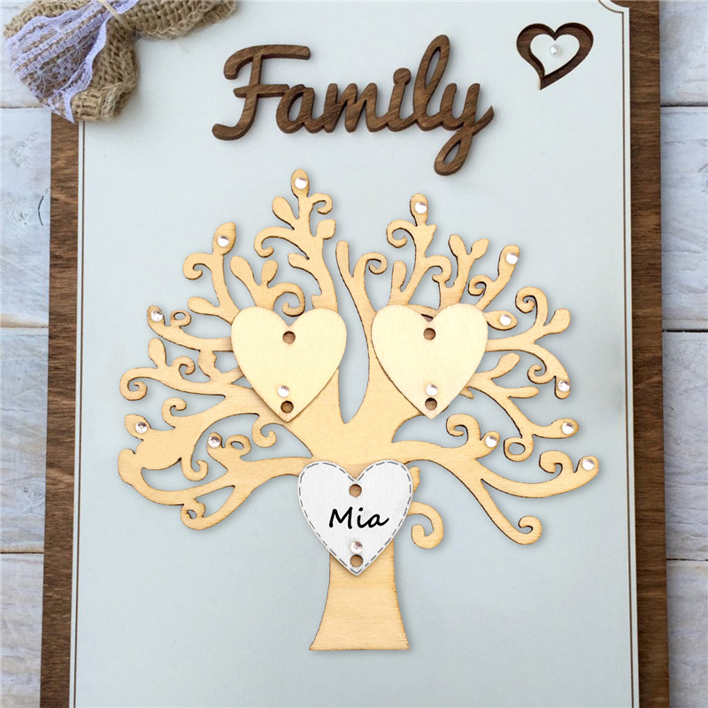 crafts family trees embellishments 50 x white mdf wooden hearts