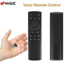 G20 Vocale Telecomando Universale 2.4G Wireless Mini Tastiera PK G10 Gyro Air Mouse per la TV Box Android 9.0 10.0 H96MAX tv box