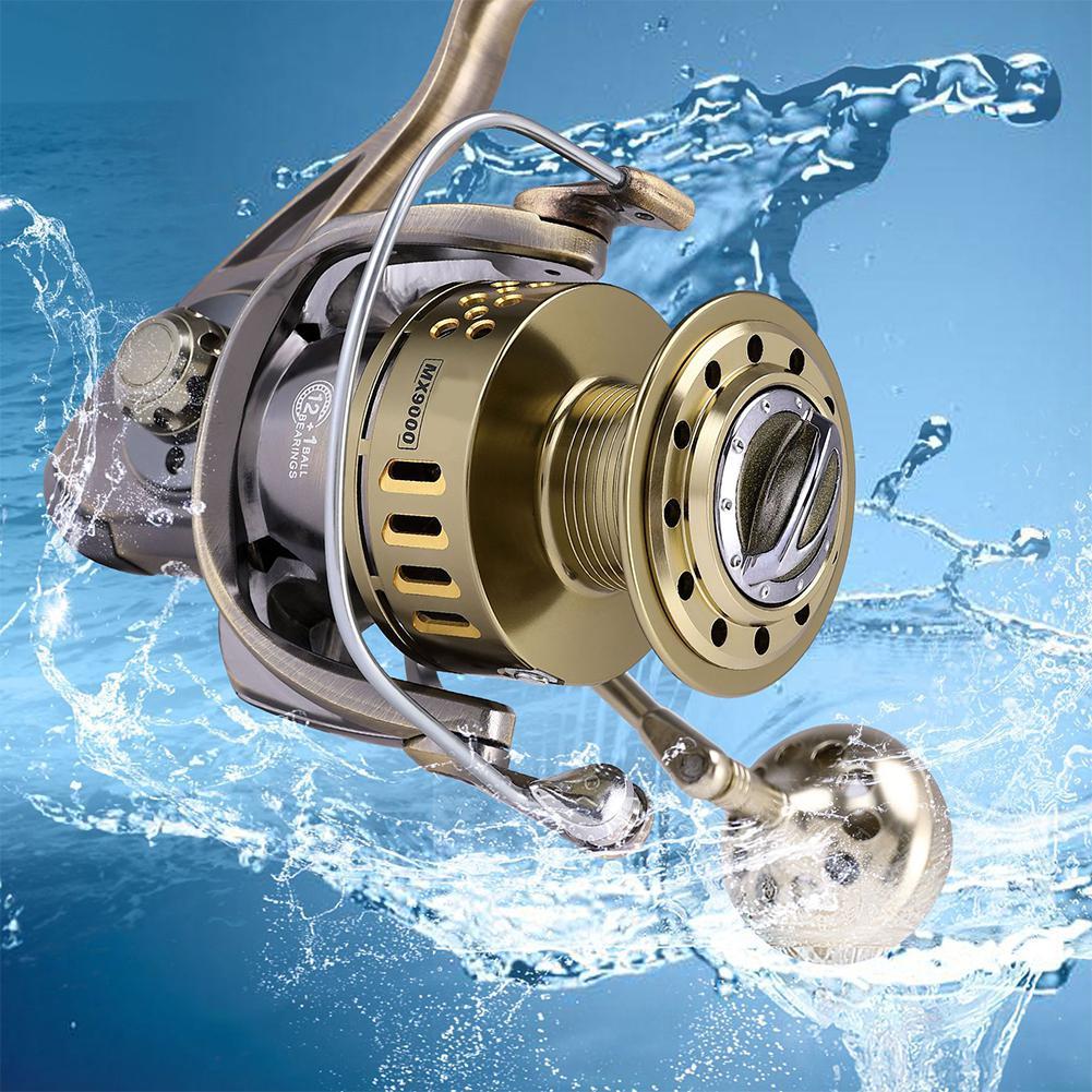 Studyset metal engrenagem de pesca molinete molinete