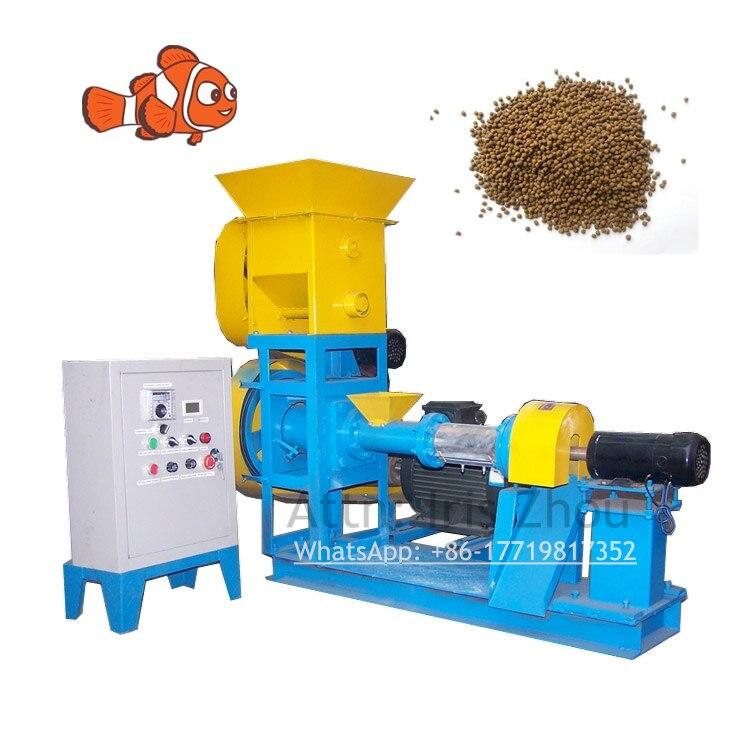 RL-DGP60-C 100-150 kg/h offre spéciale Animal de compagnie poisson-chat crevettes fabrication d'extrudeuse flottant poisson alimentation Machine à granulés