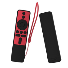يغطي كامل ل شاومي mi tv box s بلوتوث واي فاي الذكية التحكم عن بعد سيكاي سيليكون للصدمات غطاء ل mi tv عصا