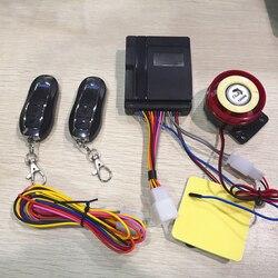 System alarmowy antywłamaniowy z pilotem 125 db Alarm klaksonu dla motocykla bardzo niskie zużycie energii