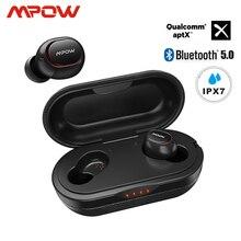 Mpow ipx7 Waterproof T5/M5 Upgraded TWS Earphones Wireless Earbud Bluetooth 5.0