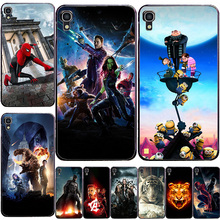 Funda de teléfono móvil impresa para Alcatel One Touch Idol 4 5,2 6055 6055B 6055H 6055K 6055Y fundas traseras coloridas