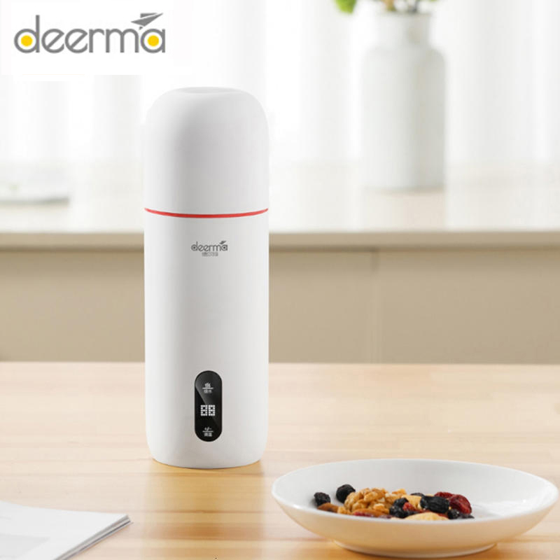 Deerma Portable Electric Kettle Thermostat Cup Coffee Travel Water Boiler Temperature Control Smart Water Kettle