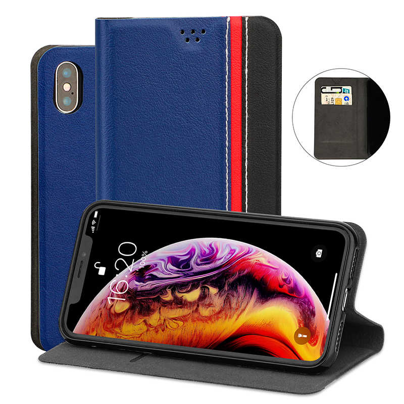 Pu Leather Book Case Voor Bq BQS-5050 Strike Selfie Flip Case Tpu Soft Silicone Cover Voor Bqs 5050 BQS5050 kaartsleuven Case