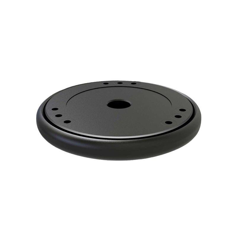Шумоизоляционная платформа демпфирования Recoil Pad для Apple Homepod Amazon Echo Google Home стабилизатор умный динамик Riser Base (черный)