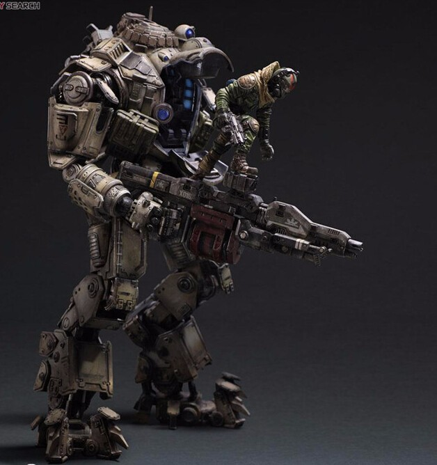 Game Titanfall 2 Figure PLAY ARTS Atlas Titanfall 2 PVC Figure Collection Model Toy Gift 27cm