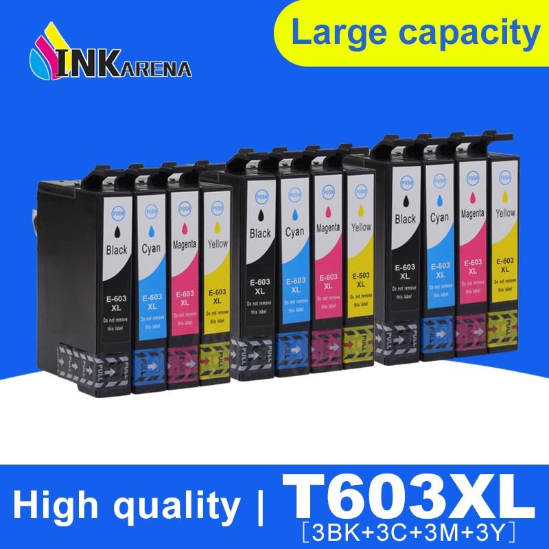 INKARENA 603 XL 5PK Epson совместимый 603XL E603 T603 для XP-2100 XP-3100 WF-2810 XP-3105 XP-4100 XP-4105 WF-2830 XP-2105 принтер