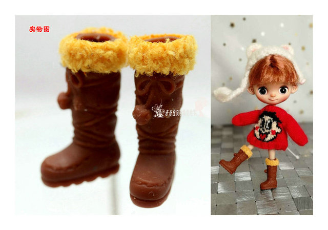 Shoes for Blyth doll Size can be chosen for 1/6 blyth dolls shoes 2