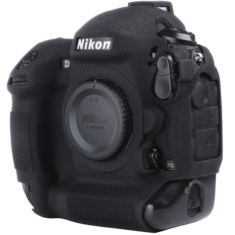For Nikon Silicone Camera Case Litchi Texture Camera  Protector Cover for Nikon D4 D4S D5 D500 D800 D810 D810a D750 D850 D7500Camera/Video Bags   -