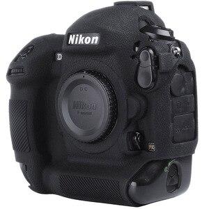 Image 1 - For Nikon Silicone Camera Case Litchi Texture Camera  Protector Cover for Nikon D4 D4S D5 D500 D800 D810 D810a D750 D850 D7500