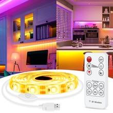 Flexible Neon Led-Strip-Lights Screen-Background-Light Tape-0.5m 2835 USB for PC 5V 1M