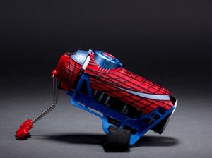 Image 4 - Spider man Cosplay mega blaster with gloves Launchers PVC Action Figure Collection Model Toy (Not Spider Shot Web Fluid no box)